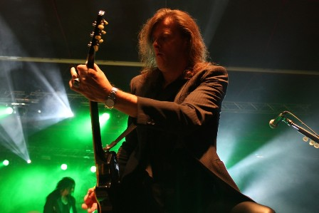 Michael Weikath at the Alcatraz Metal Festival, live with Helloween