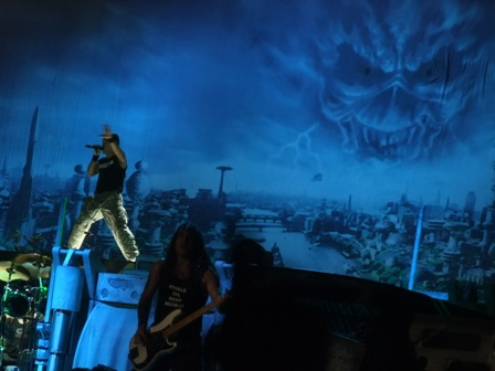Iron Maiden Brave New World in Stockholm