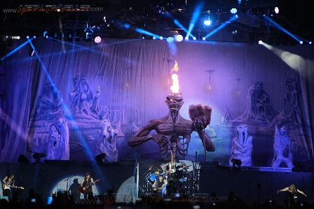 Iron Maiden at Hellfest in Clisson