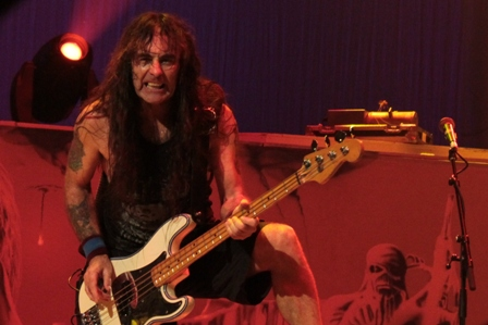 Steve Harris live in Québec City