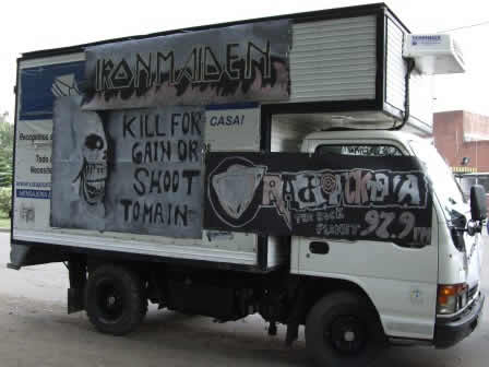 A customized truck