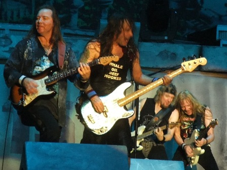 Iron Maiden live in Valencia