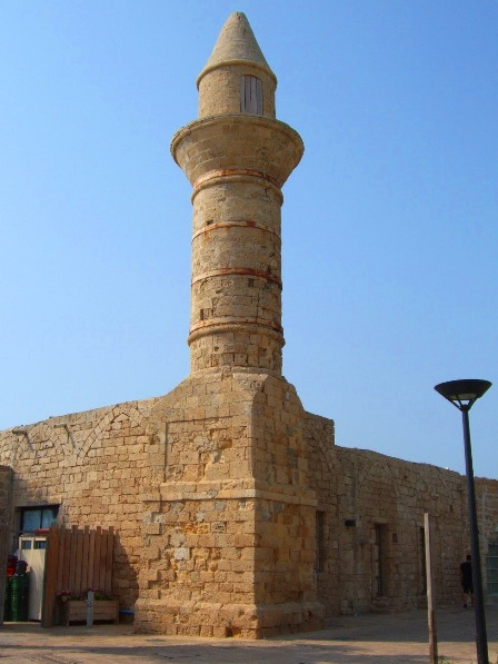 The Bosnian Mosque in Caesarea, Israel