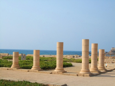 Colums by the Sea, Caesarea, Israel
