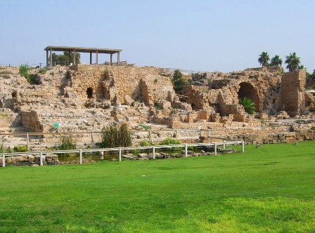 The Ruins of Caesarea, Israel