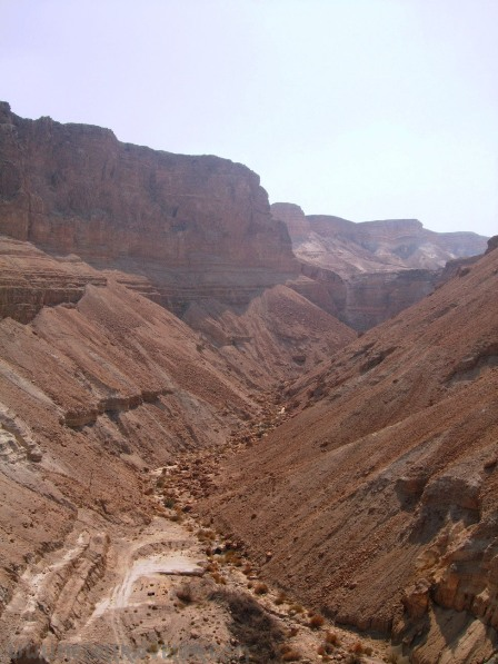 Mountains surrounding Masada