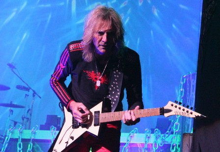 Glenn Tipton live on stage