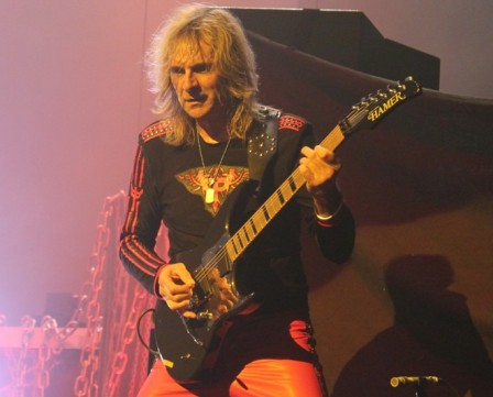 Glenn Tipton from Judas Priest live in Paris