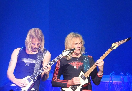 New Judas Priest Guitar Duet: Richie Faulkner and Glenn Tipton