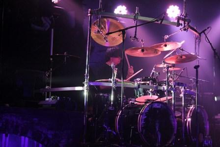 Casey Grillo on drums - Kamelot live