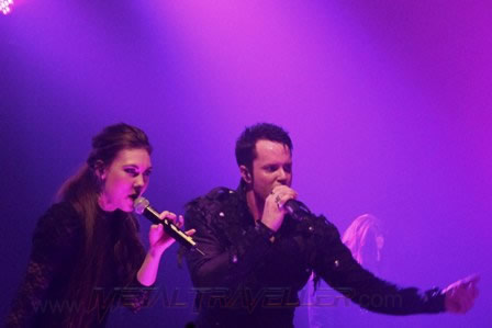 Elize Ryd and Tommy Karevik from Kamelot