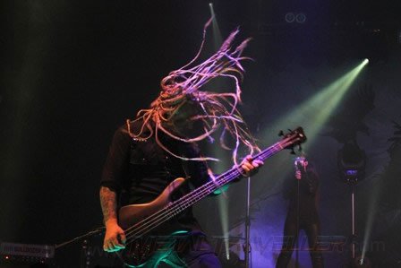Sean Tibbets headbanging