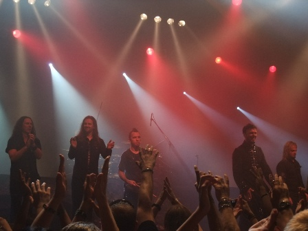 Kamelot Thanks you Budapest! Thomas Youngblood, Oliver Palotai, Casey Grillo, Roy Khan and Sean Tibbets