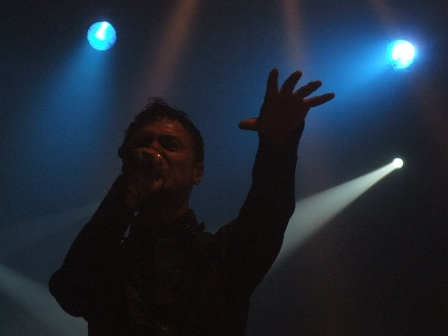 Khan from Kamelot live at the Sziget