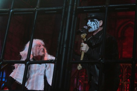 Jodi Cachia as Grandma - King Diamond live in France
