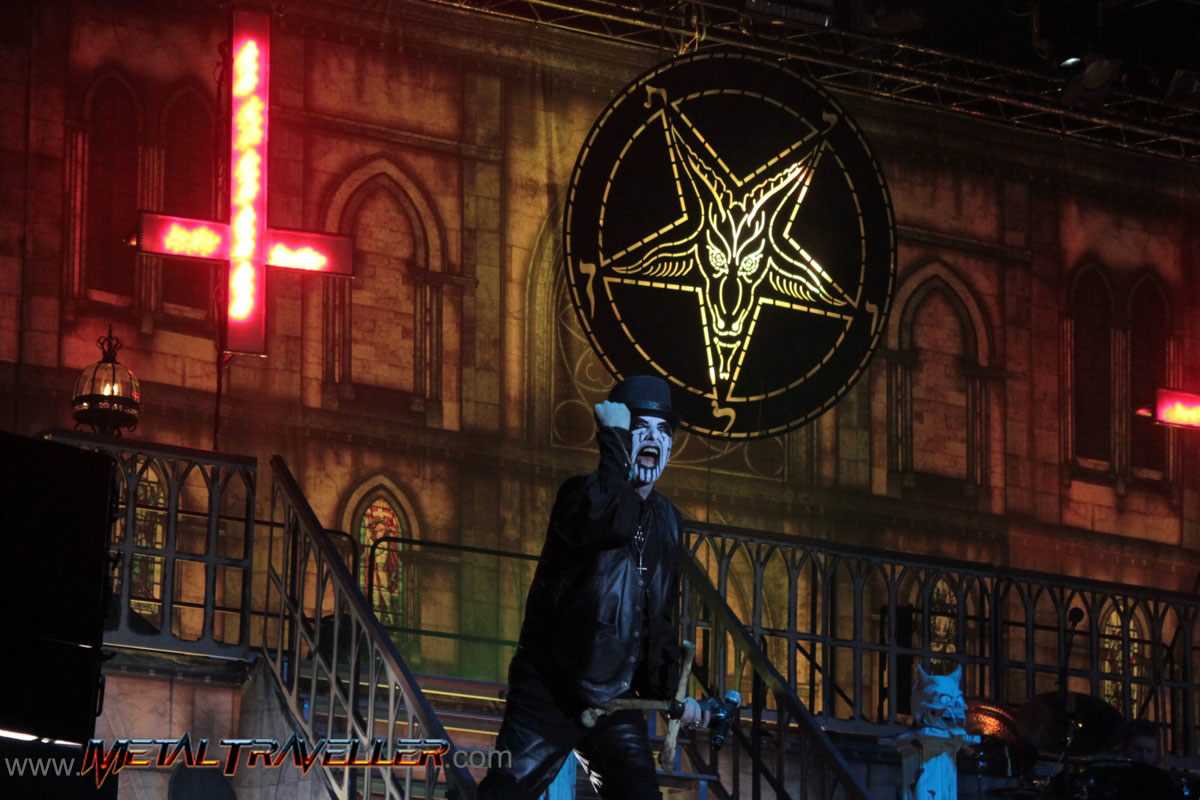 King Diamond live at Hellfest