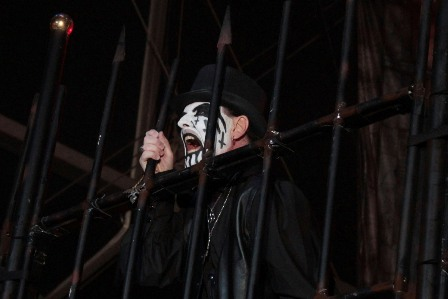 King Diamond out of the fence