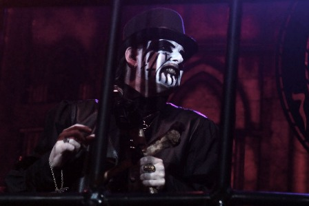 King Diamond behind the shadows