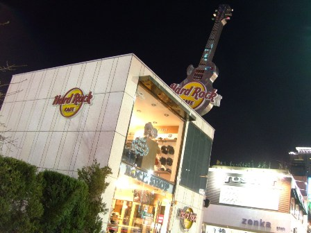 Hard Rock Café Seoul... It was closed for 3 months when I visited
