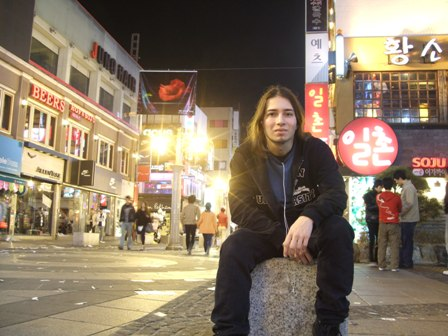 Seoul by night with Metal Traveller :-)