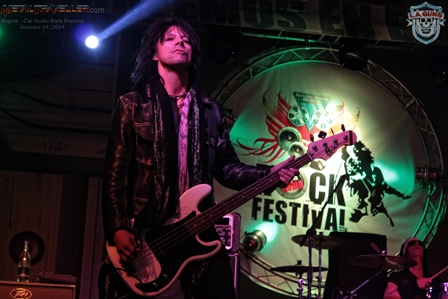 Scotty Griffin from L.A. Guns