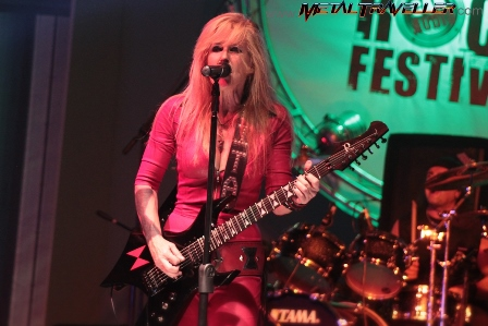 Lita Ford in Colombia