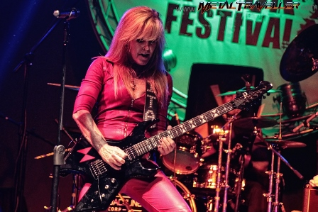 Lita Ford at Car Audio Festival in Bogotá