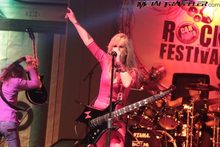 Lita Ford in Colombia - Car Audio Rock Festival