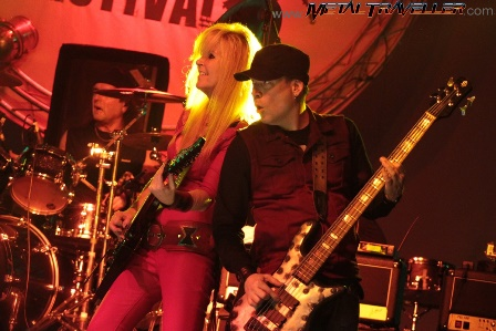 Lita Ford and Martin O'Brien