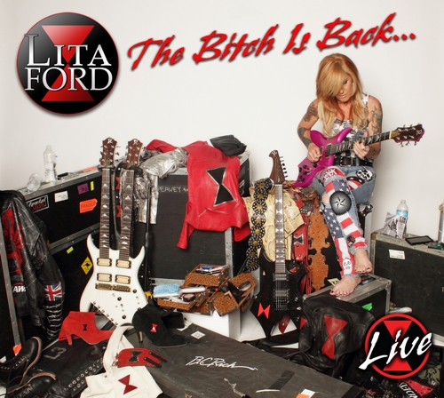 Lita Ford The Bitch Is Back... Live album cover