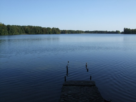 The lake in Trakai