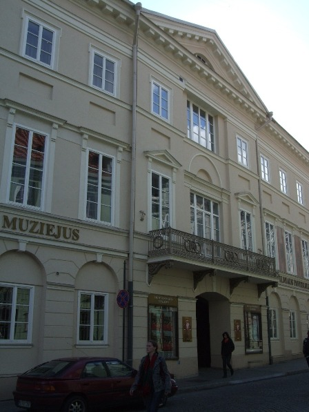 The Chodkiewicz Mansion in Vilnius