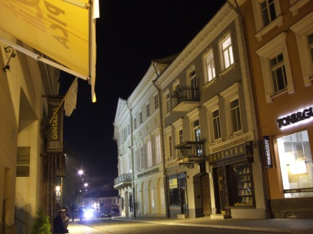 Vilnius by night