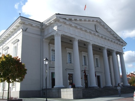 Vilnius: the town hall