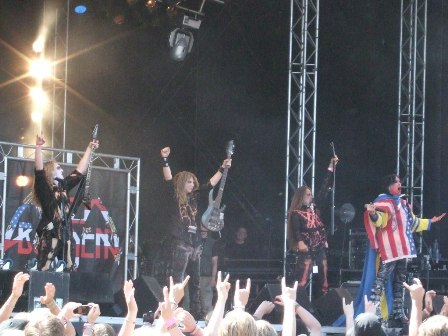 Lizzy Borden live at Sweden Rock Festival, Sweden, June 2008