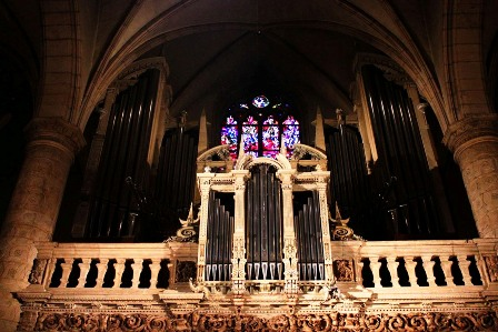 Organ of the Luxemburg Cathedral