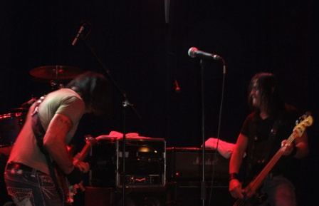 George Lynch and Robbie Crane from Lynch Mob - live in Paris