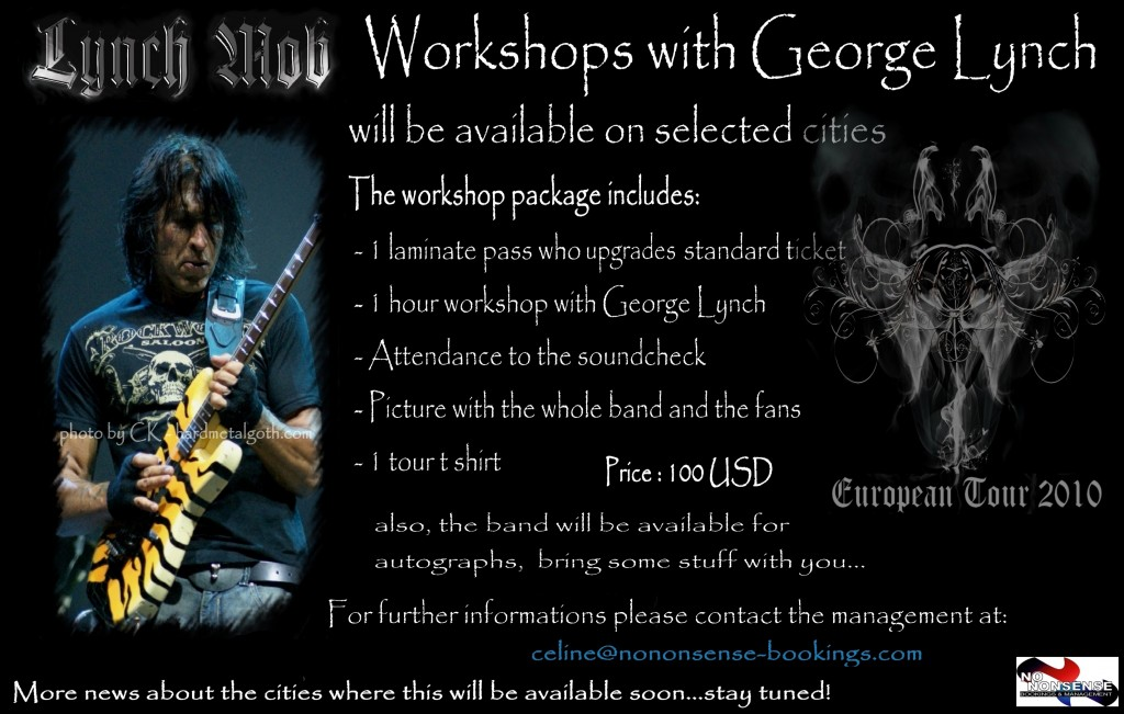 Guitar Workshops with George Lynch