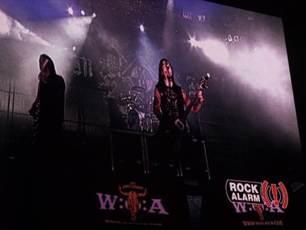 Machine Head on stage at Wacken 2009