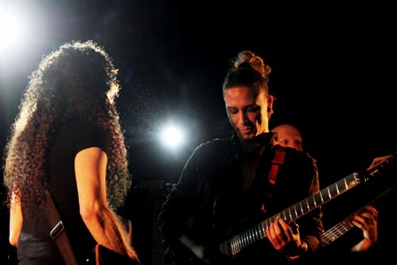 Stephan Forte and Marty Friedman live in France