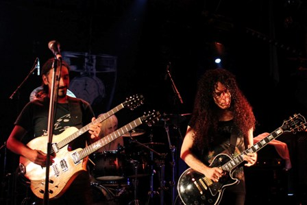 Marty Friedman and Yossi Sassi