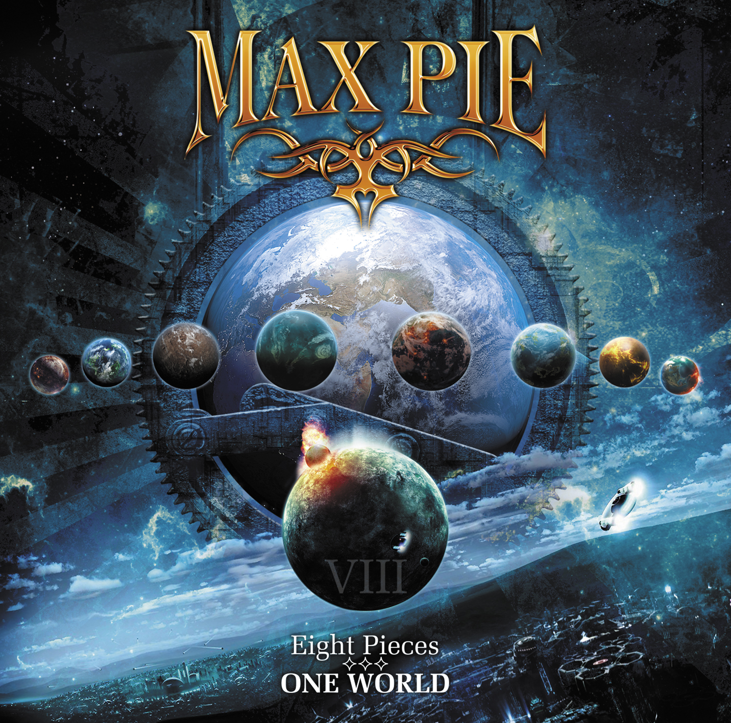 Max Pie Eight Pieces - One World album cover