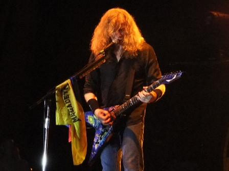 Megadeth Colombia