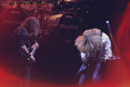 Dave Mustaine and David Ellefson from Megadeth