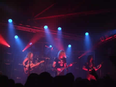 Megadeth playing live at the Atelier in Luxemburg, february 2008