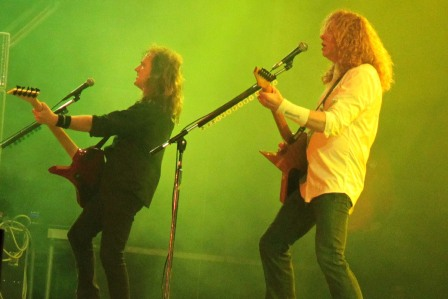 David Ellefson and Dave Mustaine - Megadeth live in France