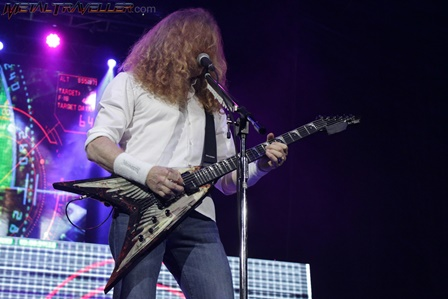 Dave Mustaine from Megadeth live in Bogotá