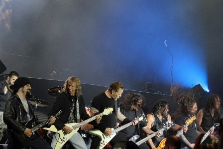The Big 5 ;) - Metallica live at Sonisphere France with Metallica