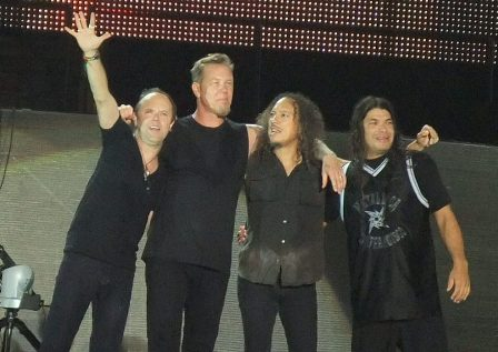 Metallica Thanks you Bucharest!!