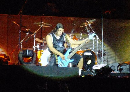 Robert Trujillo from Metallica in Hockenheim May 2009